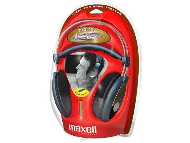 Maxell HP-2000 3.5mm Connector Circumaural Studio Series Full Ear Digital