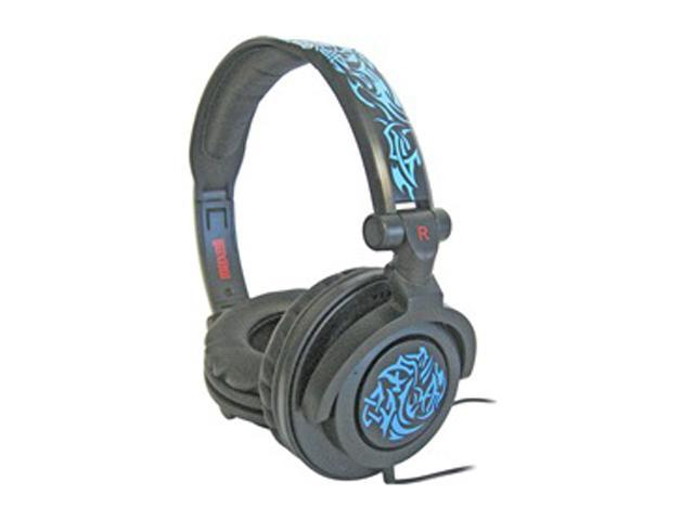 Maxell 190265 Supra-aural AMP-B Amplified Heavy Bass Headphone (Blue)