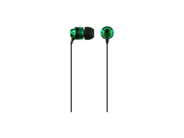 Skullcandy Green Ink'd Canal Earbuds, Green - S2INCZ-036