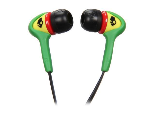 Skullcandy Rasta S2SBDZ-058 In-Ear Smokin Buds Headphone - Rasta