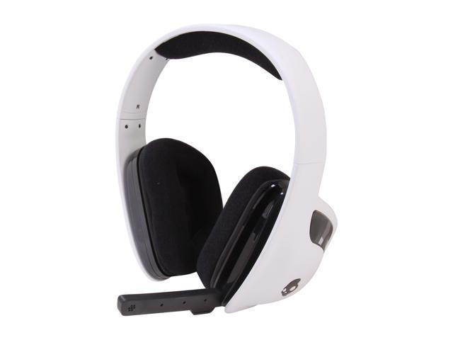 SKULLCANDY SLYR 3.5mm Connector Circumaural Headset - White