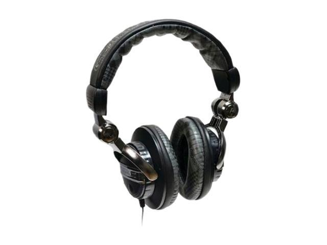 Ecko Plaid Black EKU-FRC-PLDBK 3.5mm Connector Circumaural Unlimited Force Over-the-Ear Headphone with Microphone