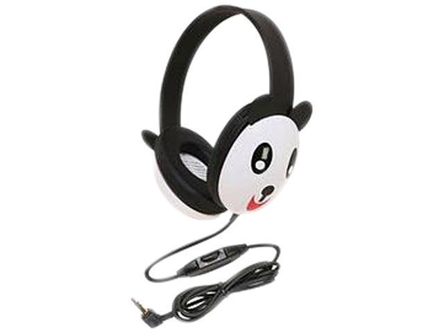 Ergoguys 2810-PA Listening First Stereo Headphone, Panda motif