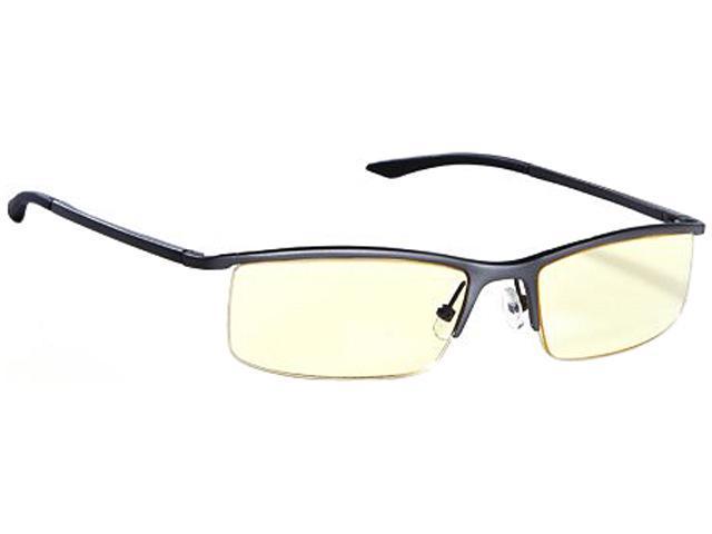 Gunnar Attache Emissary Graphite Advanced Computer Eyewear w/ i-AMP Lens Technology