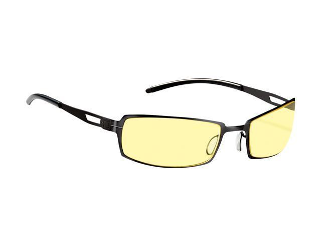 Gunnar Catalyst Metal Rocket Onyx Advanced Computer Eyewear w/ i-AMP Lens Technology