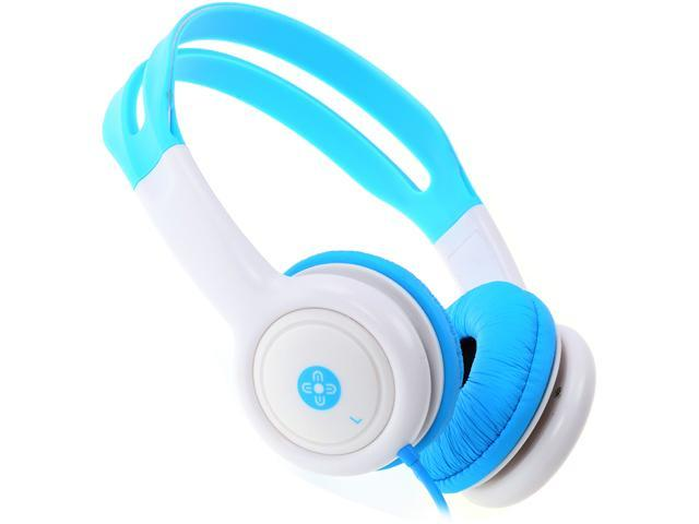 Moki Blue ACCHPKB 3.5mm (gold plated) Connector Volume Limited Kids Headphones - Blue