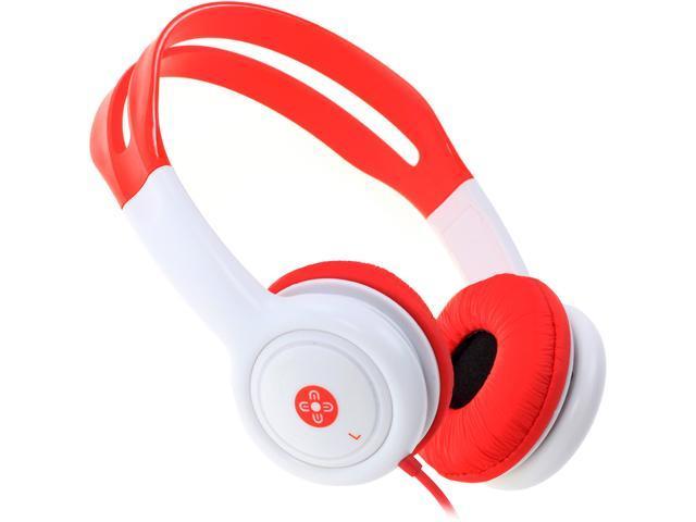 Moki Red ACCHPKR Volume Limited Kids Headphones - Red