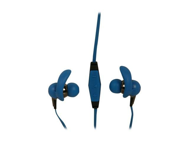 Monster Blue iSport 3.5mm Connector In-Ear Immersion Headphone with ControlTalk - Blue