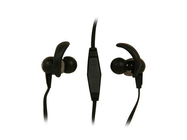 Monster Black iSport 3.5mm Connector In-Ear Immersion Headphone with ControlTalk - Black