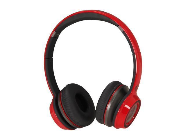 Monster Cherry Red NCredible NTune On-Ear Headphone (Cherry Red)