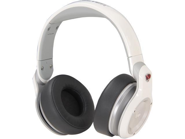 Monster White NCredible NPulse Over-Ear DJ Headphone (White)