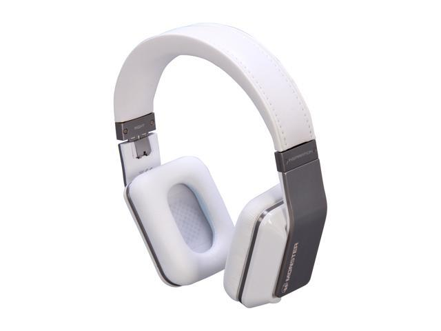 Monster White Inspiration Over-Ear Active Noise Canceling Headphone