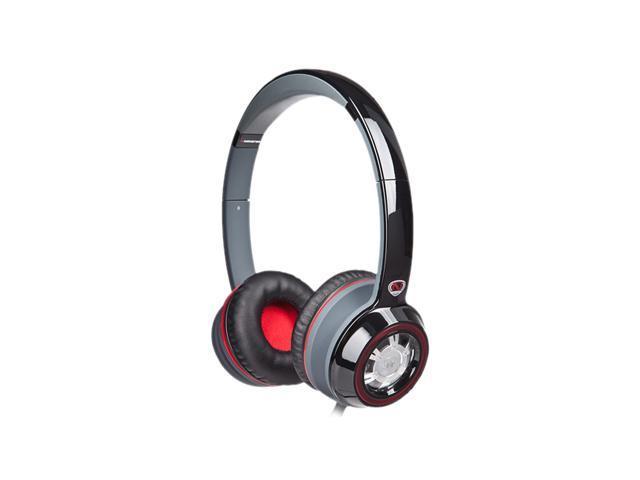 Monster Ncredible N-Tune On-Ear Headphone - Black & Red