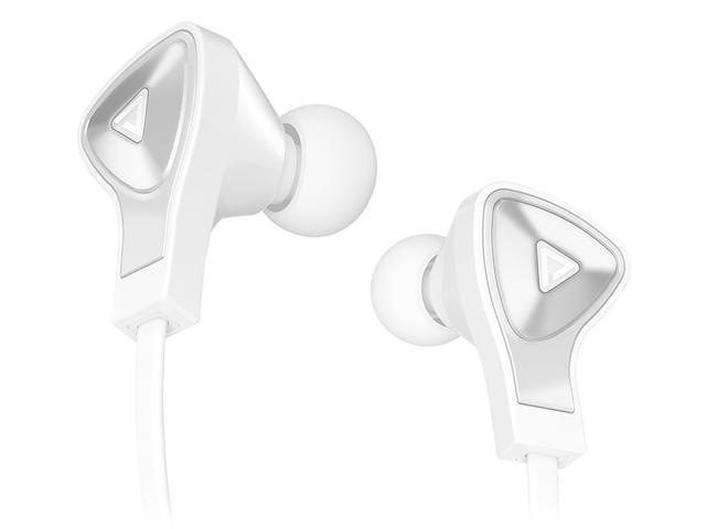 Monster White MH DNA IE WH CA WW In-Ear Headphones, Apple ControlTalk - White with Satin Chrome Finish