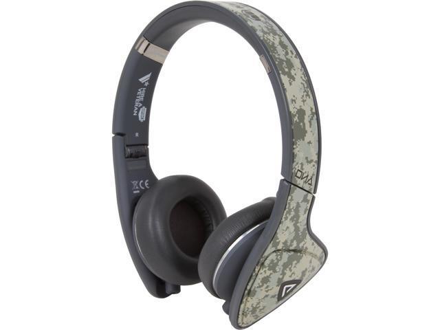 Monster Camo MH DNA ON CMO CA WW 3.5mm Connector On-Ear Headphones, Apple ControlTalk - Camo