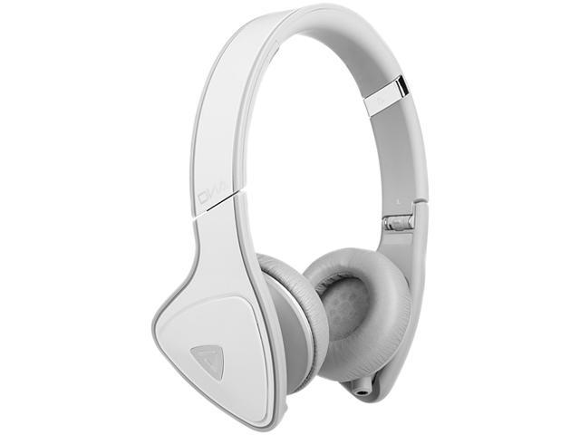 Monster DNA On Ear Headphones for iOS - White/Grey - (MH DNA ON WH LTGY CA)