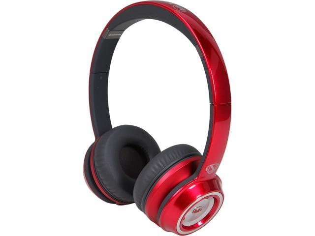 Monster Candy Red NC MH NTU ON C-RD WW On-Ear, ControlTalk Universal - Candy Red
