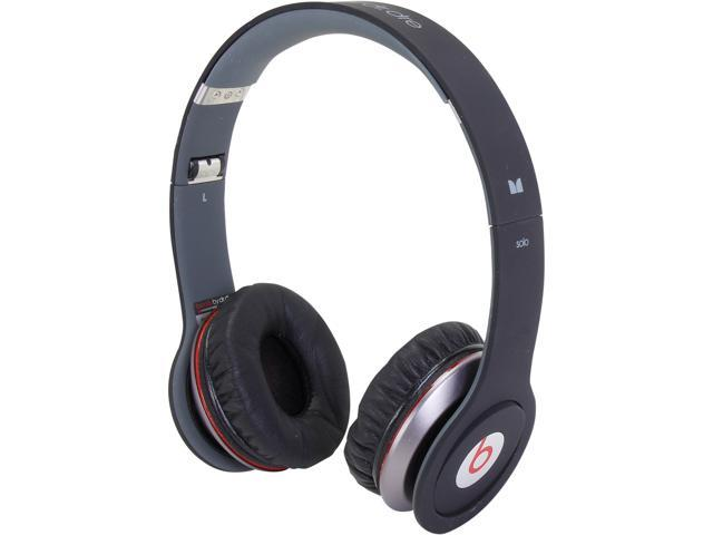 Beats by Dr. Dre Solo HD On-Ear Headphones, Flat Black