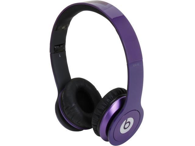 Beats by Dr. Dre Purple BEATS SOLO HD Supra-aural Headphone/Headset