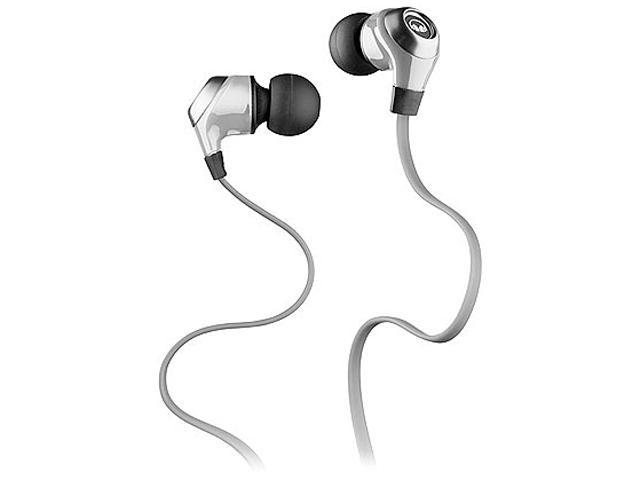 Monster Cable Classic Series N-Lite In-Ear Headphones, Silver, #128590