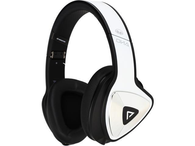 Monster DNA Pro 2.0 Over-Ear Headphones-White Tuxedo ...