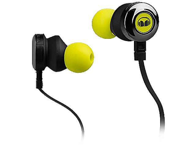 Monster ClarityHD High-Performance Earbuds, Neon Green, 128667-00