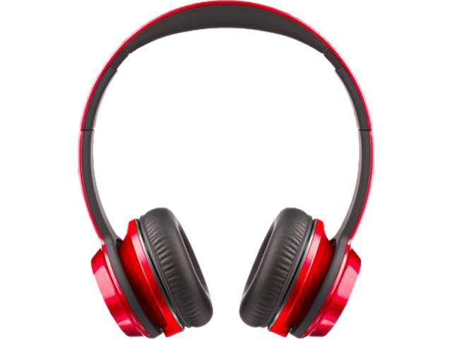 Monster NTune On-Ear Headphone, Candy Red, 128522-00