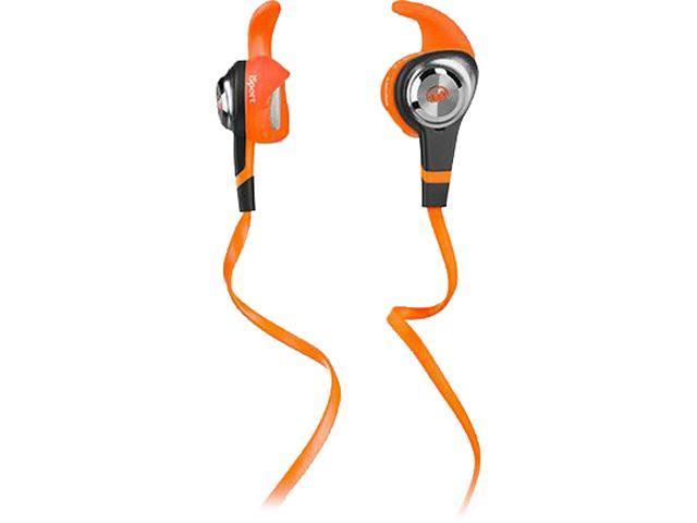 Monster iSport Strive In-Ear Headphones, Orange, 137029-00