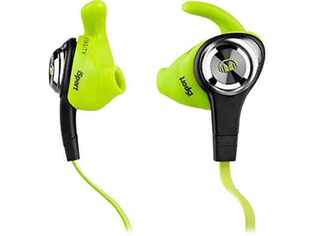 Monster iSport Intensity In-Ear Headphones, Green, 137009-00