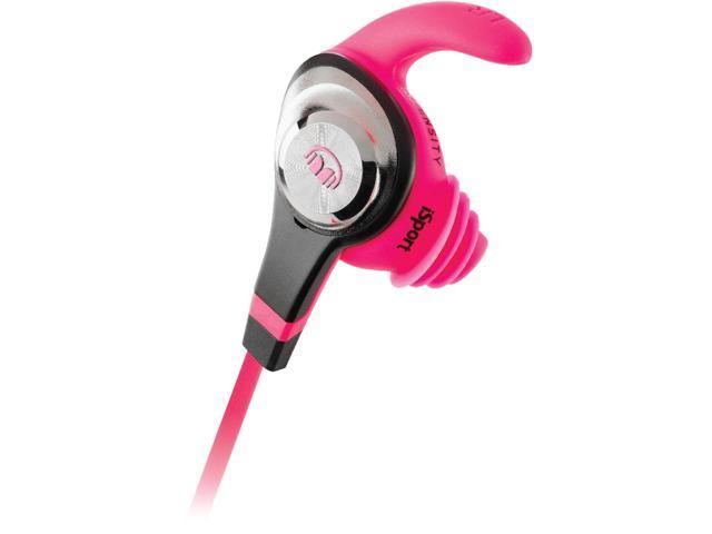Monster iSport Intensity In-Ear Headphones, Pink, 137018-00