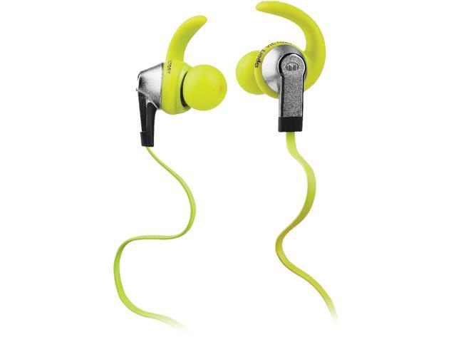 Monster iSport Victory In-Ear Sport Headphones, Green, 137026-00