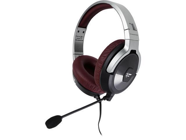 Fatal1ty by Monster FXM 200 Ultra High Performance Gaming Over-Ear Headphones, Black Matte