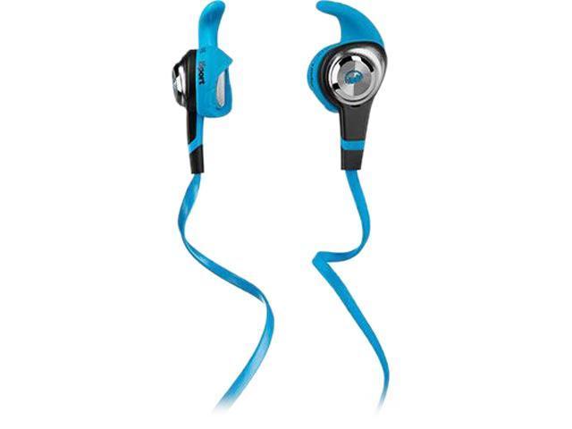 Monster iSport Strive In-Ear Headphones, Blue, 137025-00