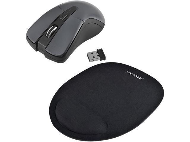 Insten 2075403 Gray RF Wireless Optical Mouse