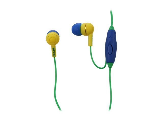 BOOM Yellow LDSY Canal Spoken Leader Headphone