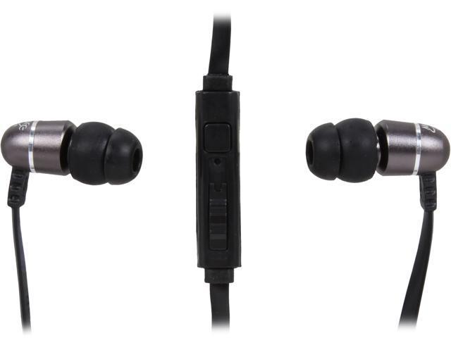 MEElectronics Gunmetal M9PG2-GM 3.5mm Connector Canal Headphone/Headset