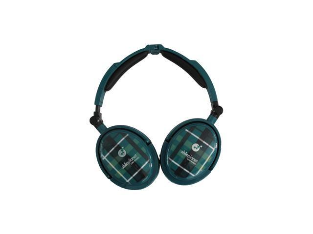 AblePlanet EXTREME Green XNC230G 3.5mm/ 6.3mm Connector Circumaural Foldable Active Noise Cancelling Headphone