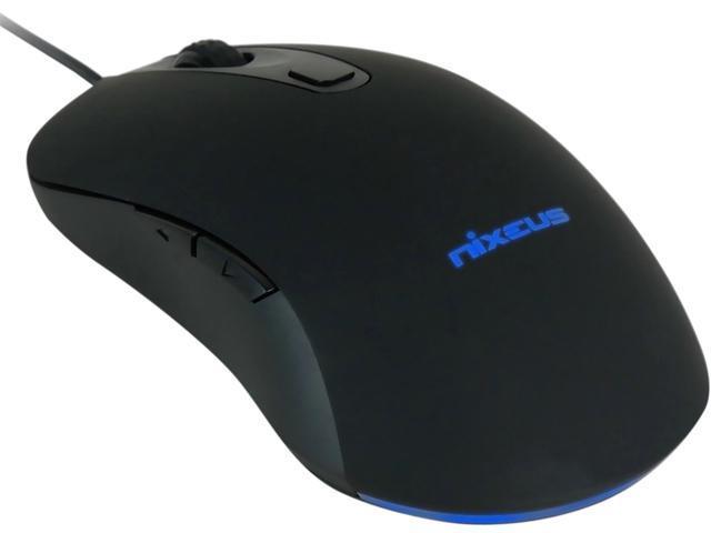 Nixeus REVEL REV-BK16 Black 6 Buttons 1 x Wheel USB Wired 12000 dpi Gaming Mouse