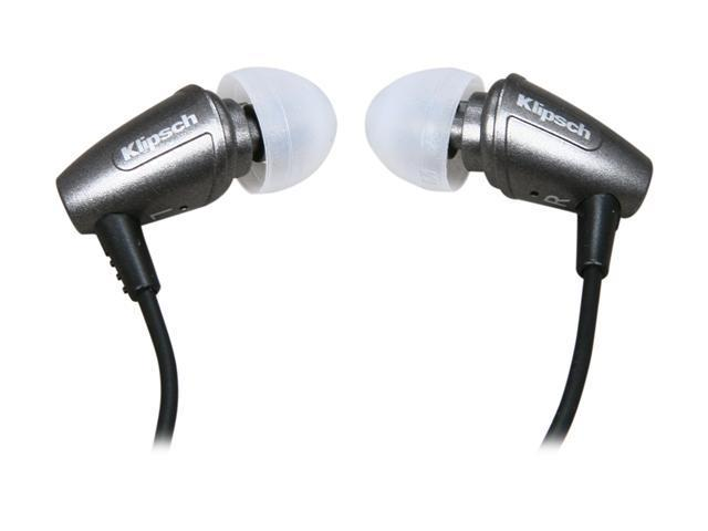 Klipsch Gray Image S3 3.5mm Connector In Ear Graphite Grey Noise-Isolating Earphone