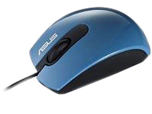 ASUS UT210 90-XB1C00MU00600- Blue Wired Optical Mouse