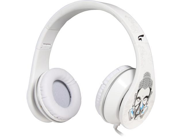 EAGLE TECH Cleansing- Return to innocence headphones (White) ET-ARHP300FC-WH