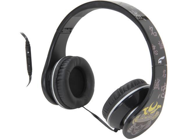 EAGLE TECH Samurai Song-Strength of Character Headphones ET-ARHP300FS-BK