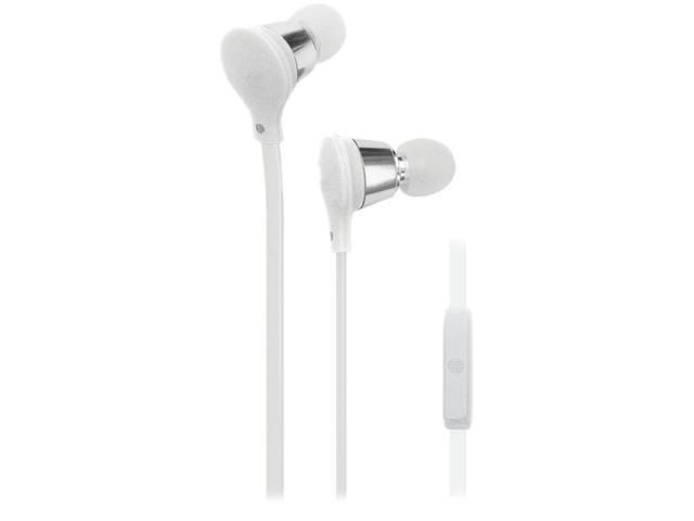 AT&T White EMB01-WHITE Earbud Jive Earbuds