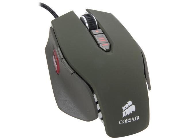 Corsair Vengeance M65 CH-9000024-NA Military Green 8 Buttons USB Wired Laser Gaming Mouse