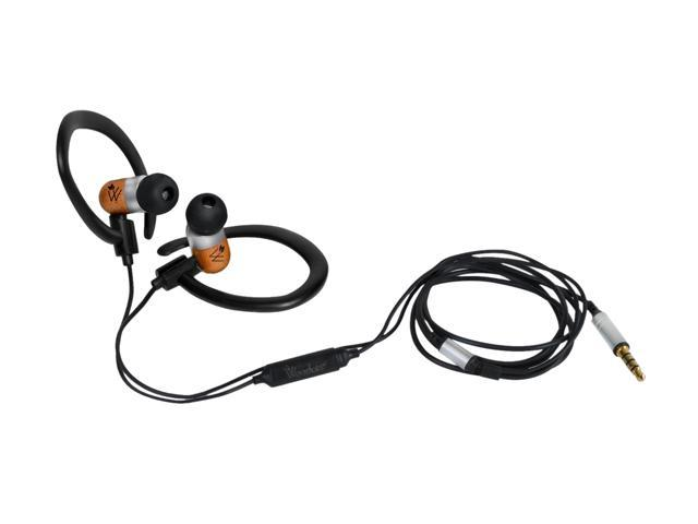 Woodees IESW200B Inner Ear Sport Stereo Earphone with Microphone