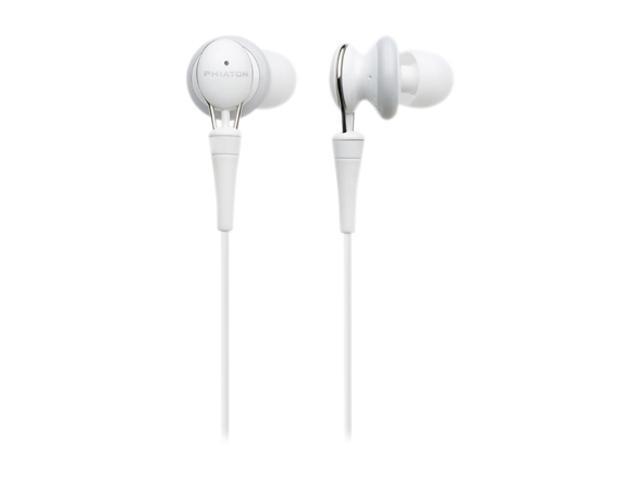 Phiaton Primal Series PS 20 Half In-Ear Premium Earphone, Glossy White