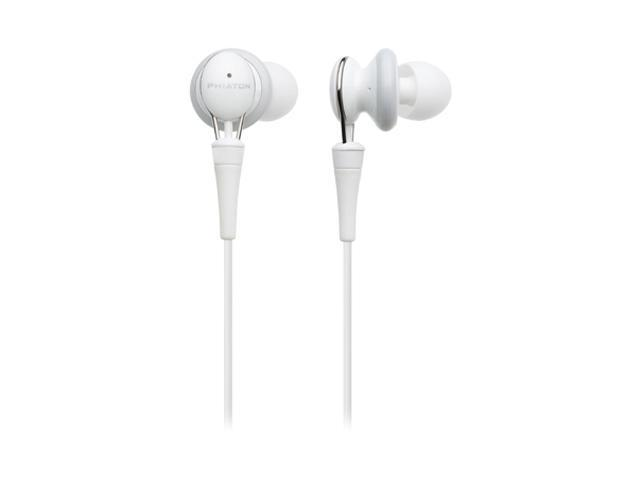 Phiaton PS 20 NC 3.5mm Connector In-Ear Earphone with Noise-Cancellation (White)