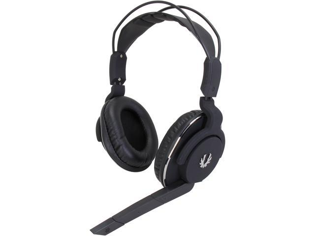 BitFenix Flo Circumaural Headset - Midnight Black