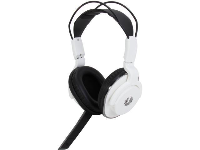 BitFenix Flo Circumaural Headset - Arctic White