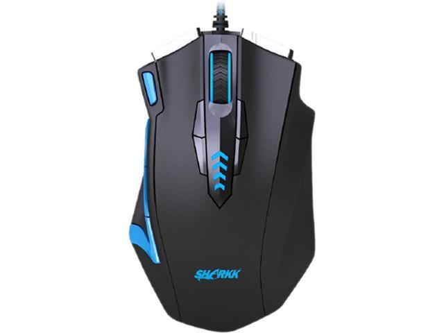SHARKK 16400 DPI High Precision Laser Gaming Mouse, 14 Programmable Buttons